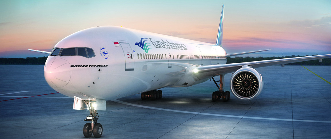 A group of engineers from Indonesia have arrived on a special Garuda chartered flight to begin work on a multi-sports complex for the 2023 Pacific Games ©Garuda