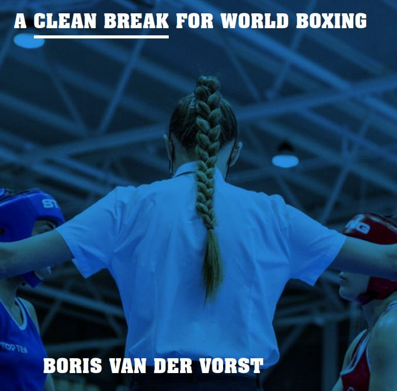 Van der Vorst steps up campaign for AIBA President with release of election manifesto