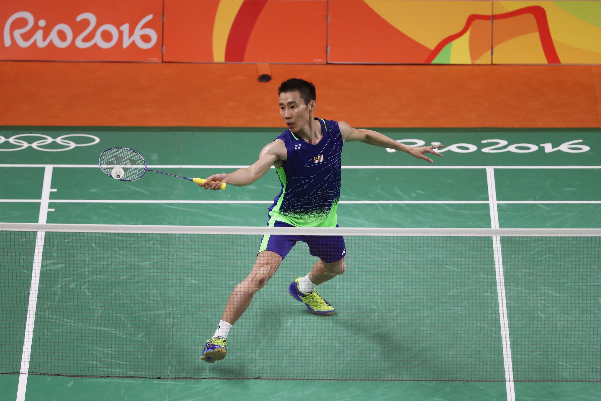 Lee Chong Wei competed at four Olympic Games, earning three silver medals ©Getty Images
