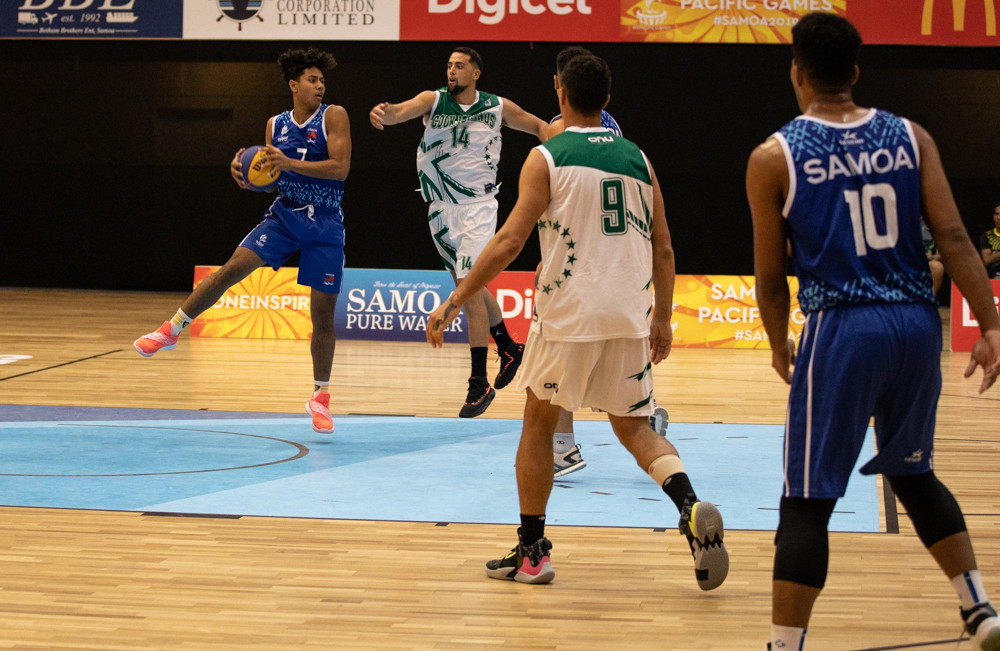 Pacific Games helps spark 3x3 basketball boom in Oceania