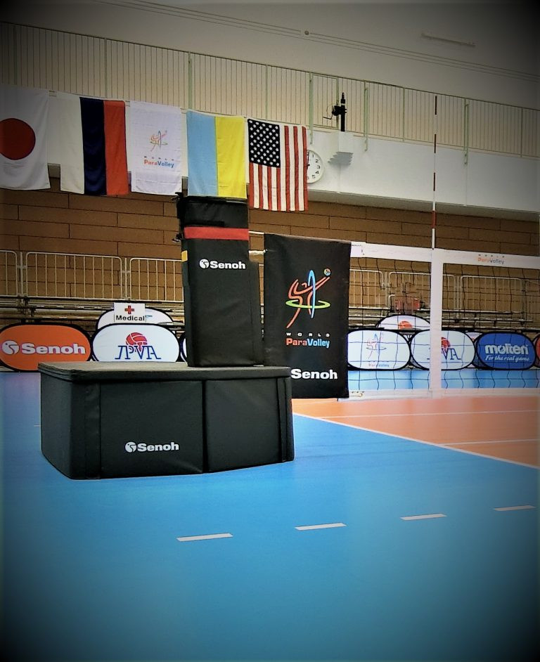 World ParaVolley extends equipment deal with Senoh to cover Tokyo 2020