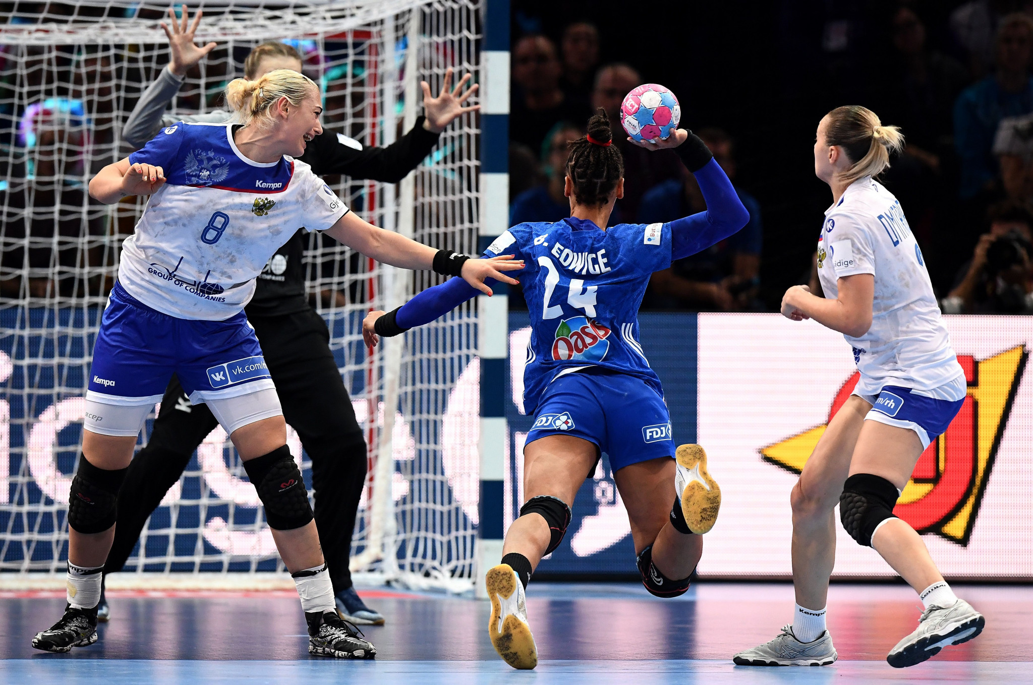 France beat Russia in the final of the 2018 European Women's Handball Championship ©Getty Images