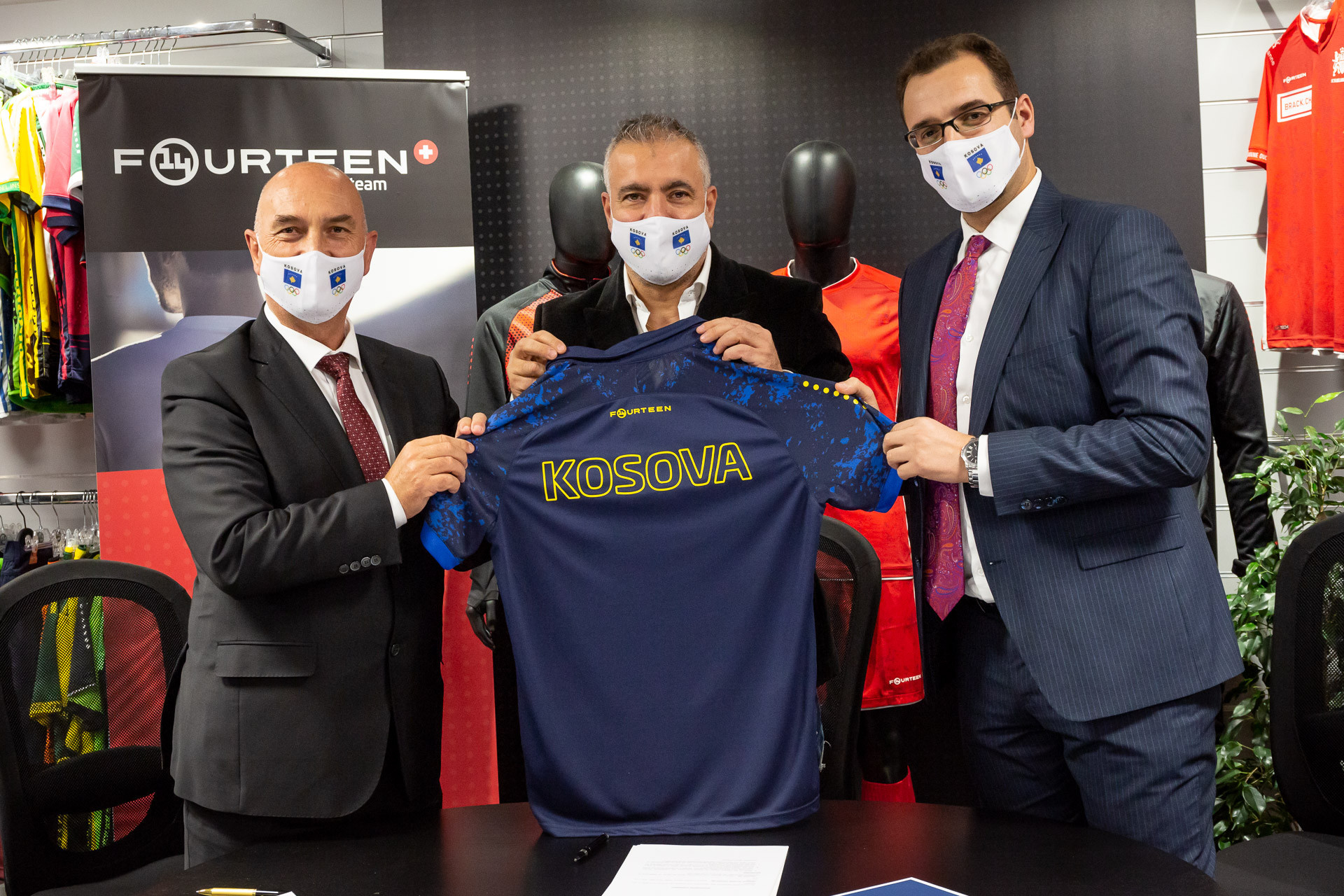 Olympic Committee of Kosovo signs four-year apparel deal with Fourteen