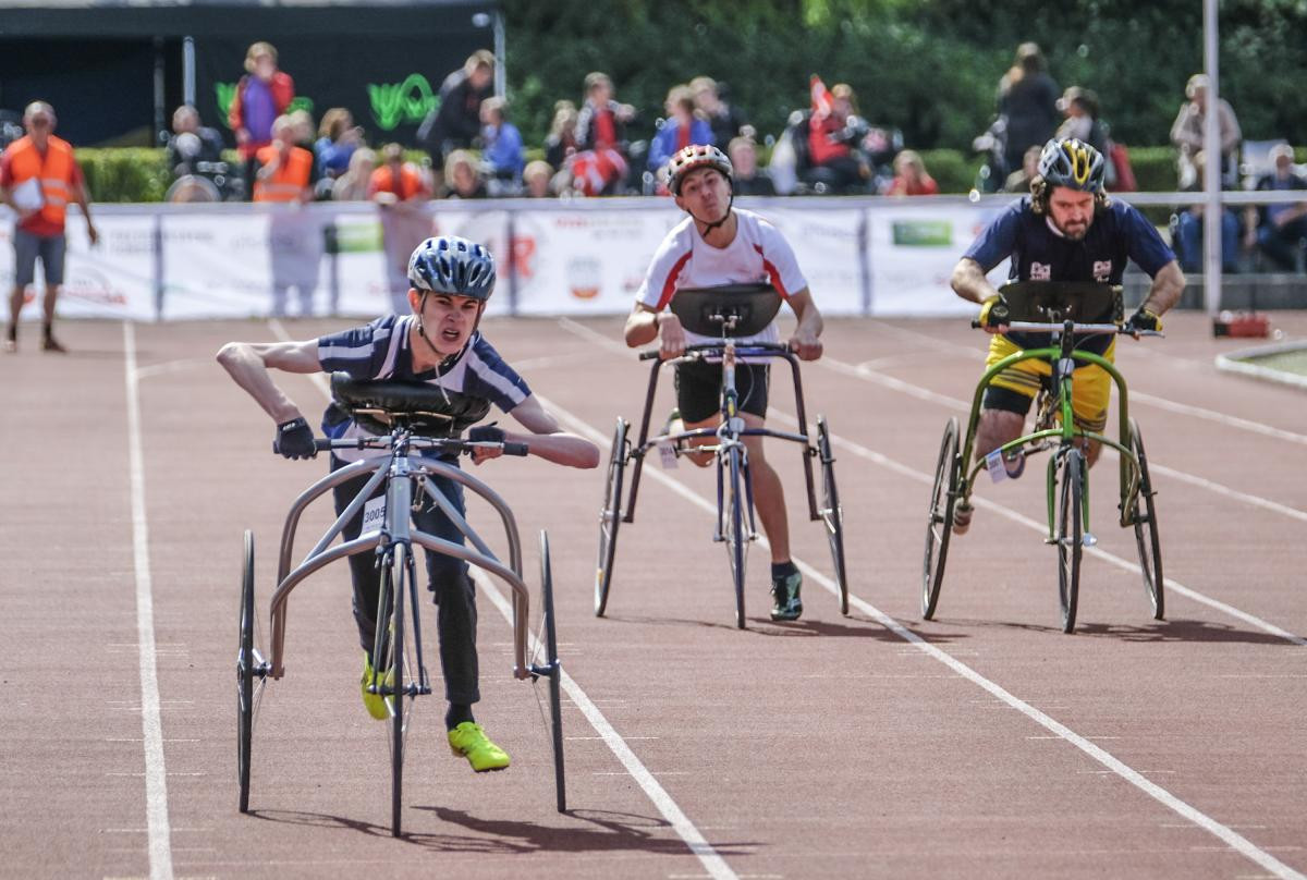Frame running events may feature at the Paris 2024 Paralympic Games ©World Para Athletics