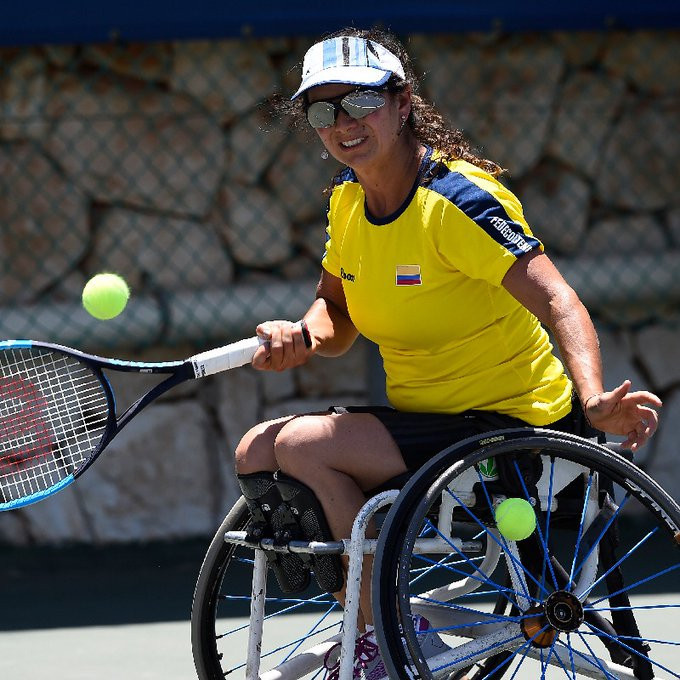 Johana Martinez has been announced as the winner of the 2020 UNIQLO Spirit Award by the International Tennis Federation ©ITF