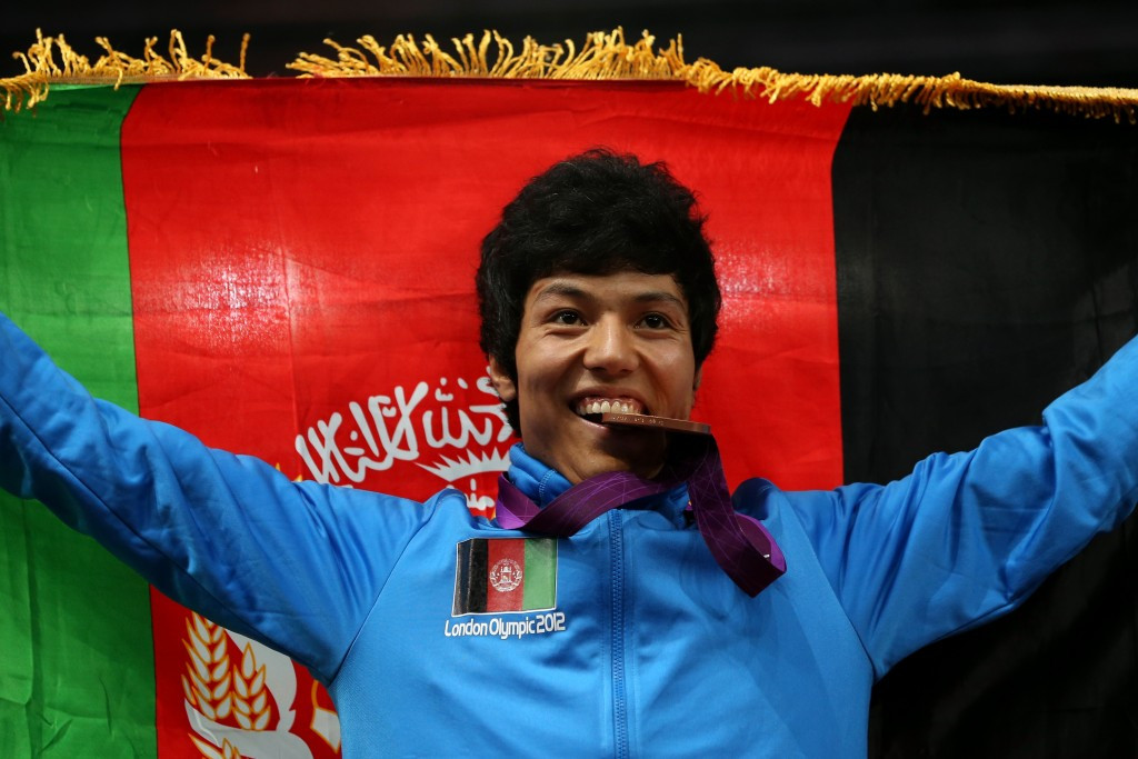 Double Olympic taekwondo medallist returns to Afghanistan to prepare for Rio 2016 but preparations threatened by NOC row