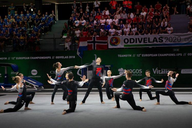 Denmark has withdrawn as host of the TeamGym European Championships ©British Gymnastics