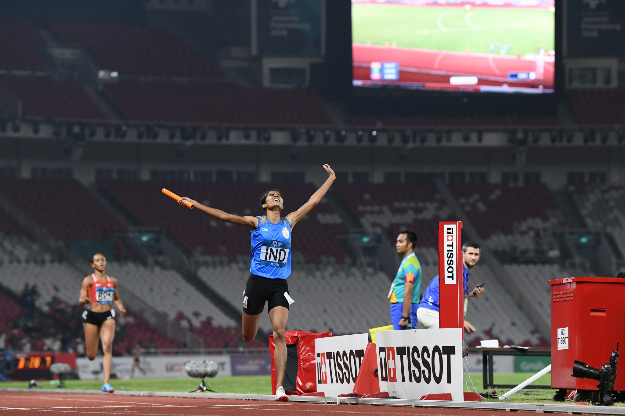 India has not earned an Olympic medal in athletics since 1900, but performed well in the sport at the 2018 Asian Games ©Getty Images