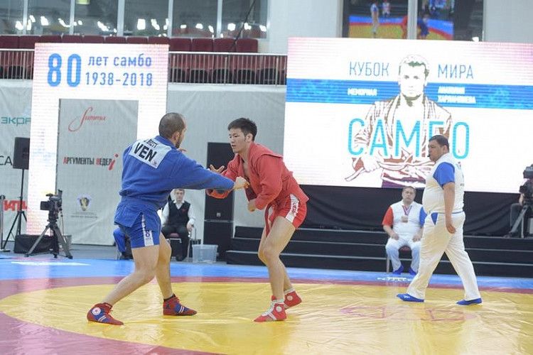 Sambo World Cup in Moscow to be held without spectators