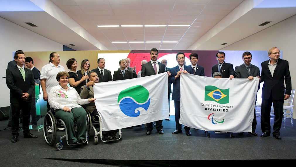 The virtual meetings are part of an agreement between the Brazilian Paralympic Committee and Hamamatsu in Japan ©CPB