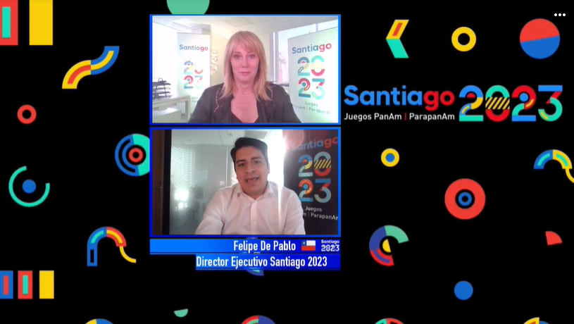 Santiago 2023 chief executive participates in Instagram Live on Parapan American Games