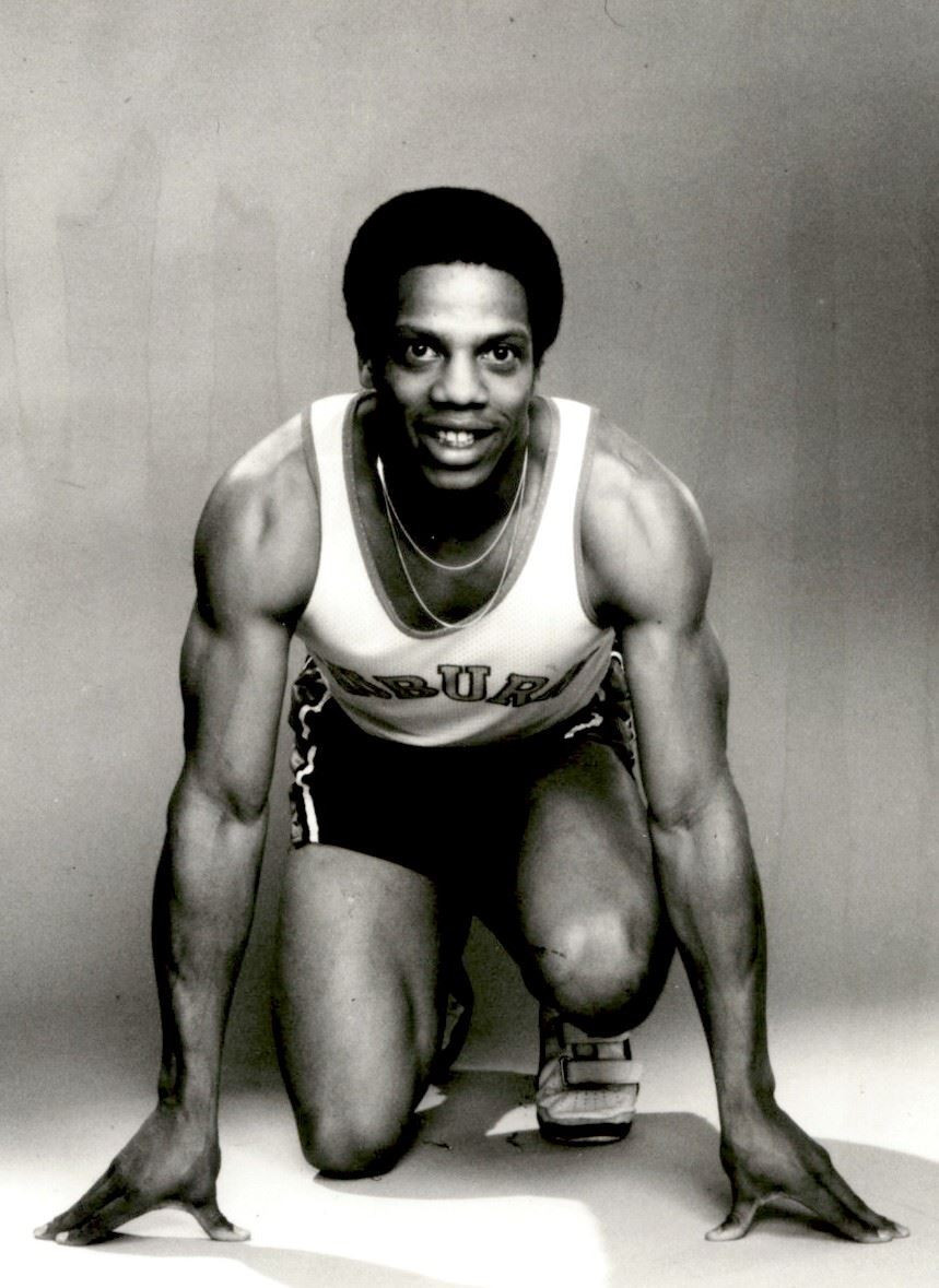 Willie Smith started as a 100m sprinter before developing into one of the world's top 400m runners ©Auburn University