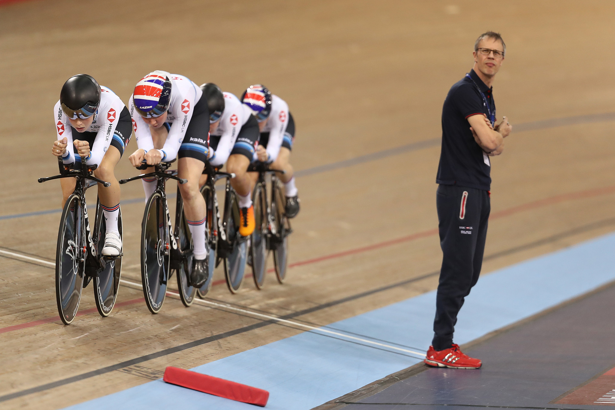 Paul Manning has overseen Britain's gold medal-winning women's team pursuit squads at the past two Olympic Games ©Getty Images