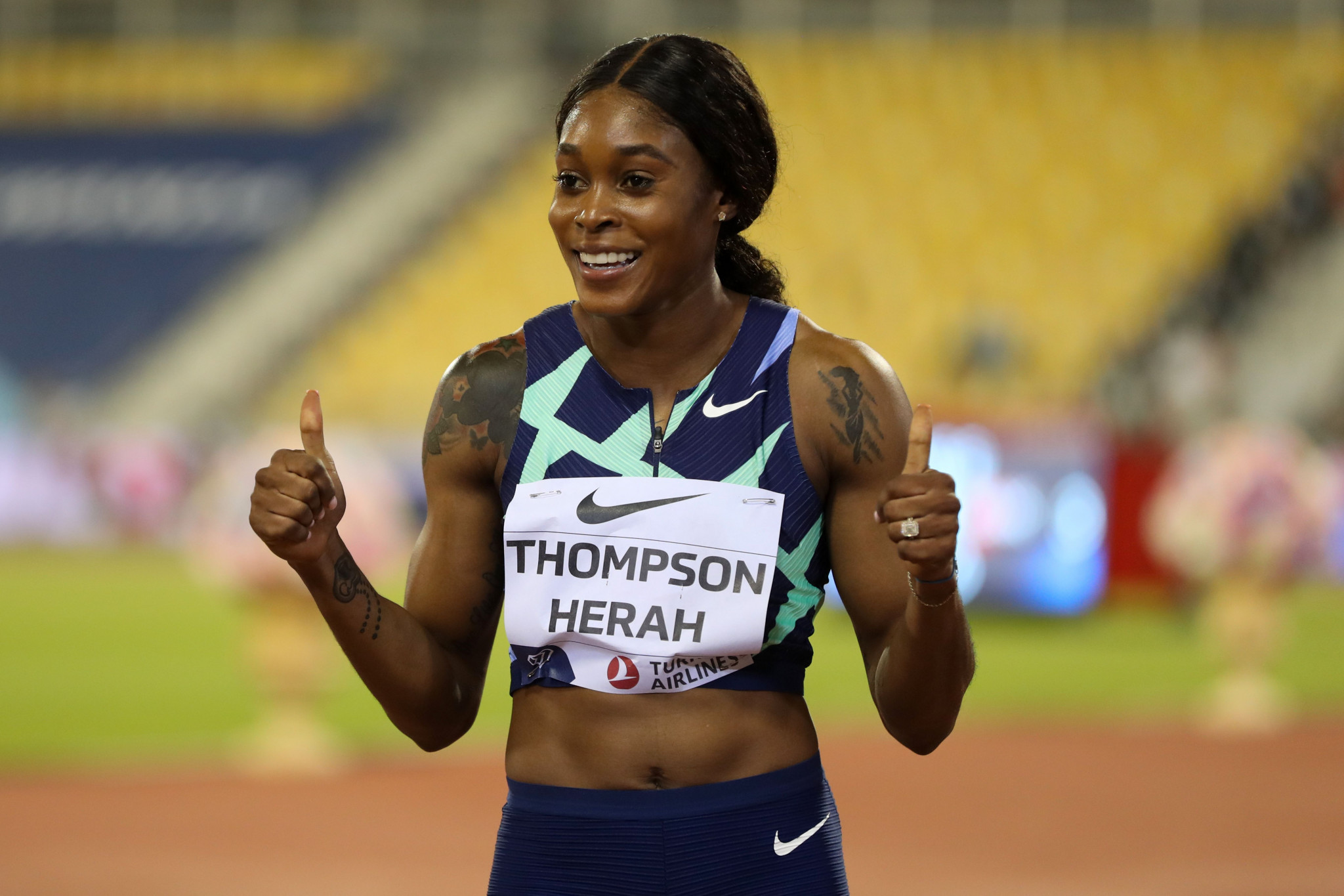 Double Olympic champion Thompson-Herah among five finalists for Female Athlete of the Year