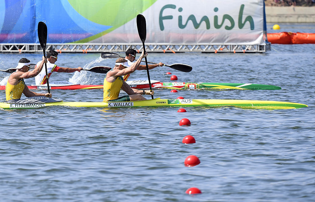 Two canoe sprint events could be cut from the ICF's Olympic programme ©Getty Images