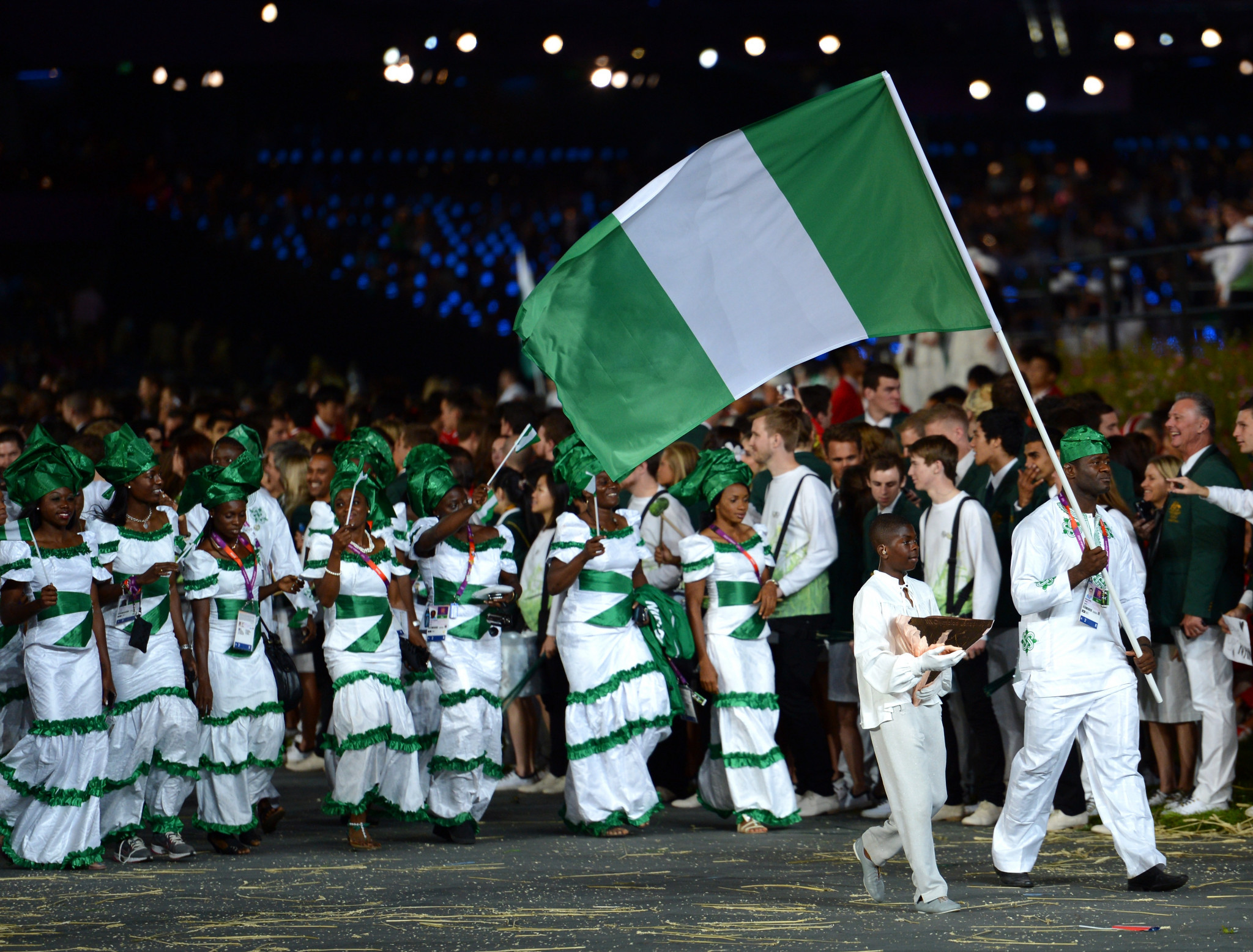 Nigeria has been holding training camps for athletes bound for Tokyo 2020 ©Getty Images