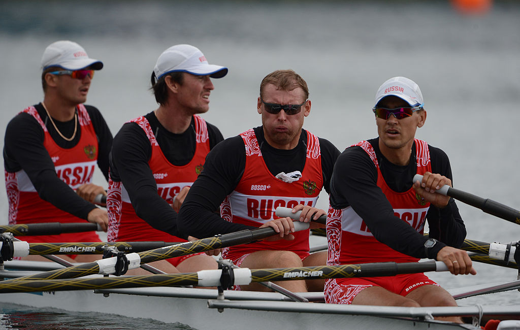 The FGSR is led by Alexei Svirin, second left ©Getty Images