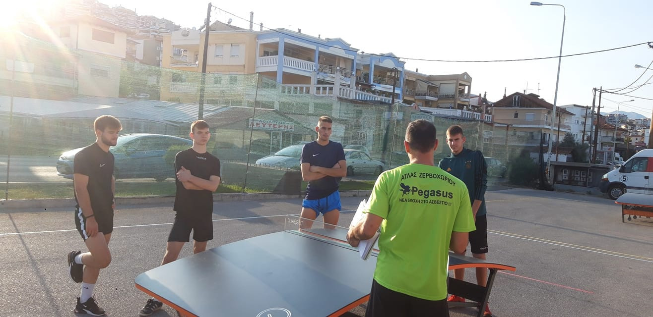 Greece is hoping to establish a national teqball federation ©FITEQ