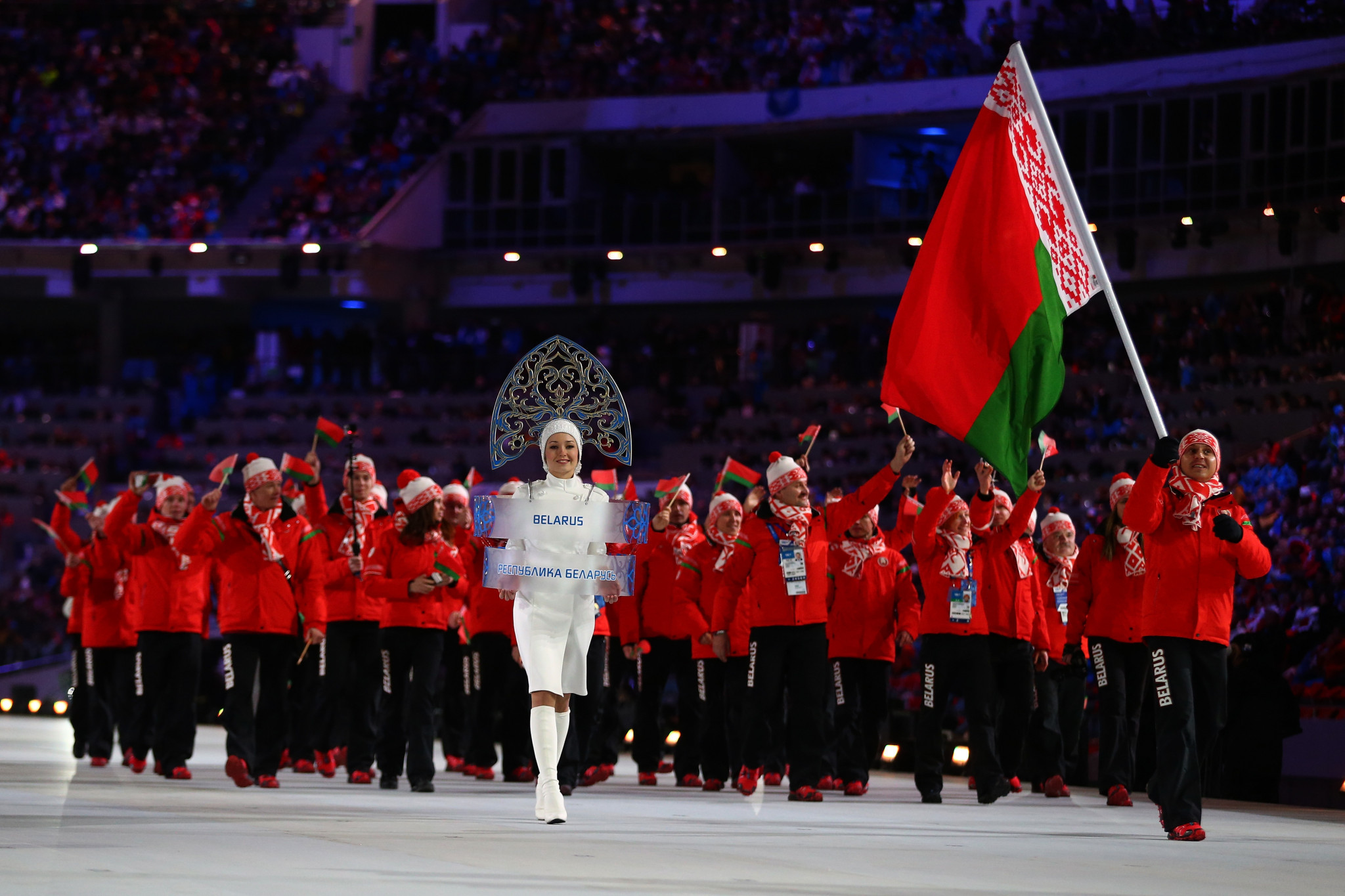The National Olympic Committee of the Republic of Belarus is alleged to have breached the Olympic Charter ©Getty Images