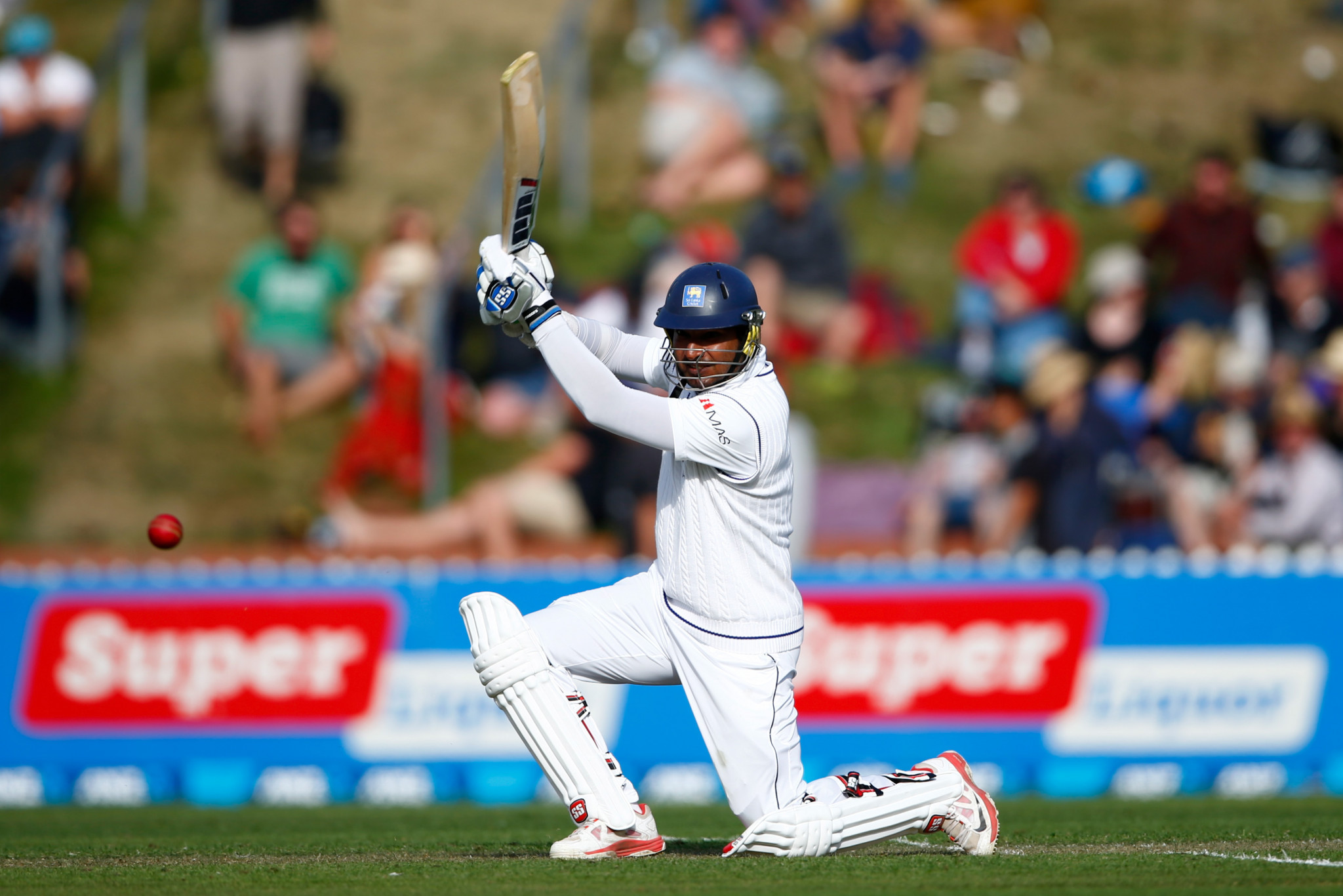 Sri Lanka's Kumar Sangakkara, one of only 13 players to score 10,000 Test runs, is a nominated in two categories