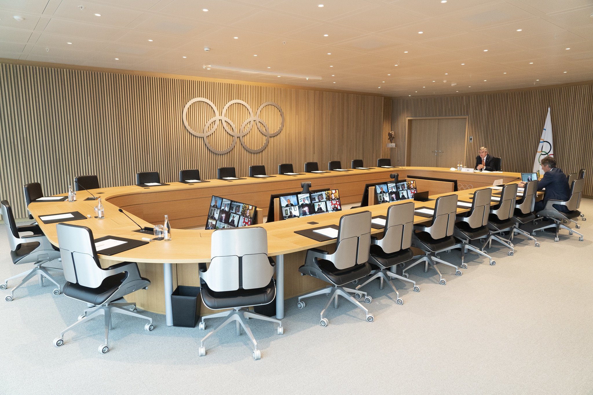 The IOC Executive Board held a remote consultative meeting today ©IOC