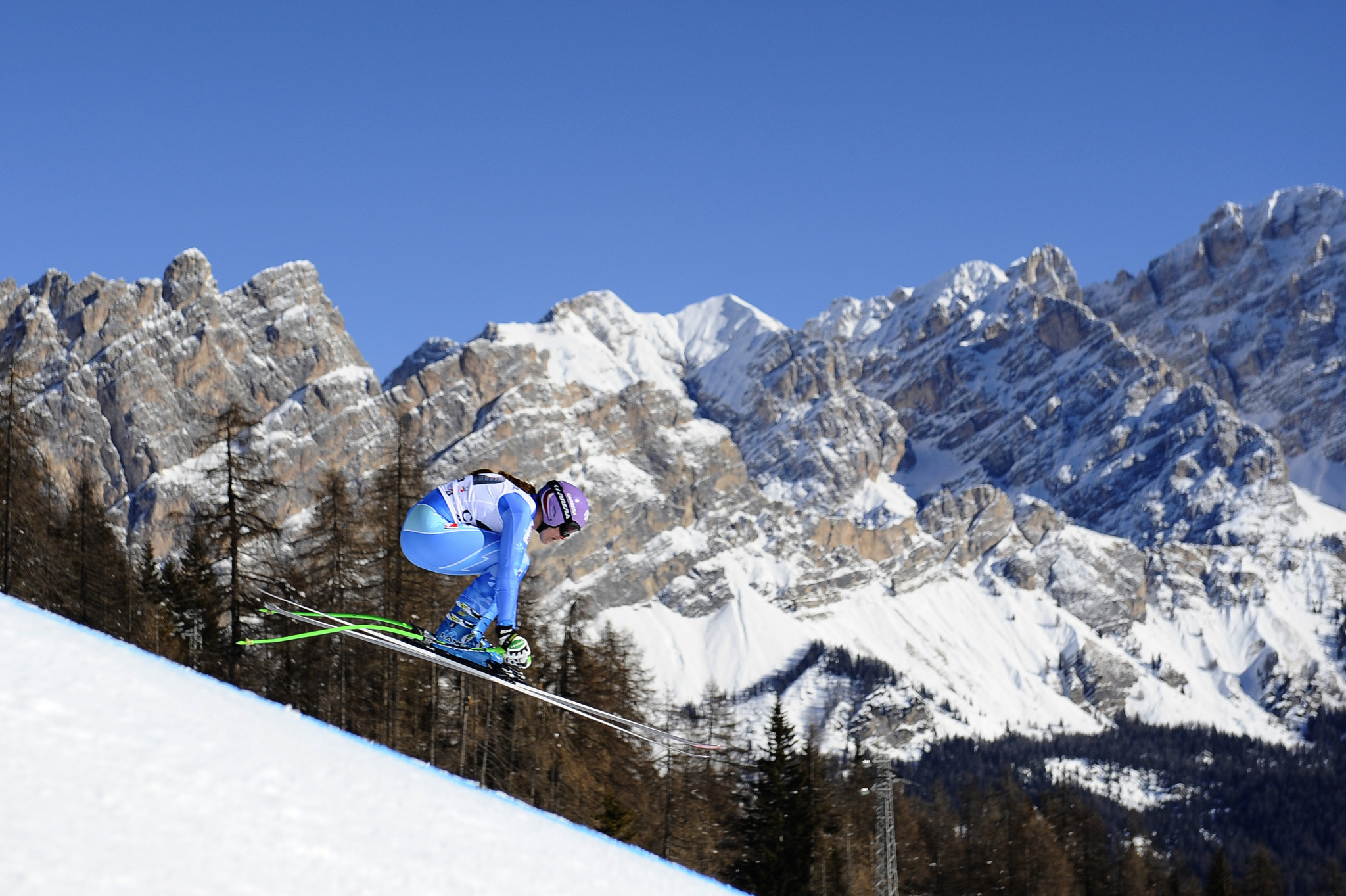 Organisers are still predicted a budget surplus - aided by existing venues such as in Cortina d'Ampezzo ©Getty Images