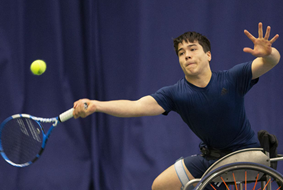 Britain's Dahnon Ward won the first edition of the boys' prize ©ITF
