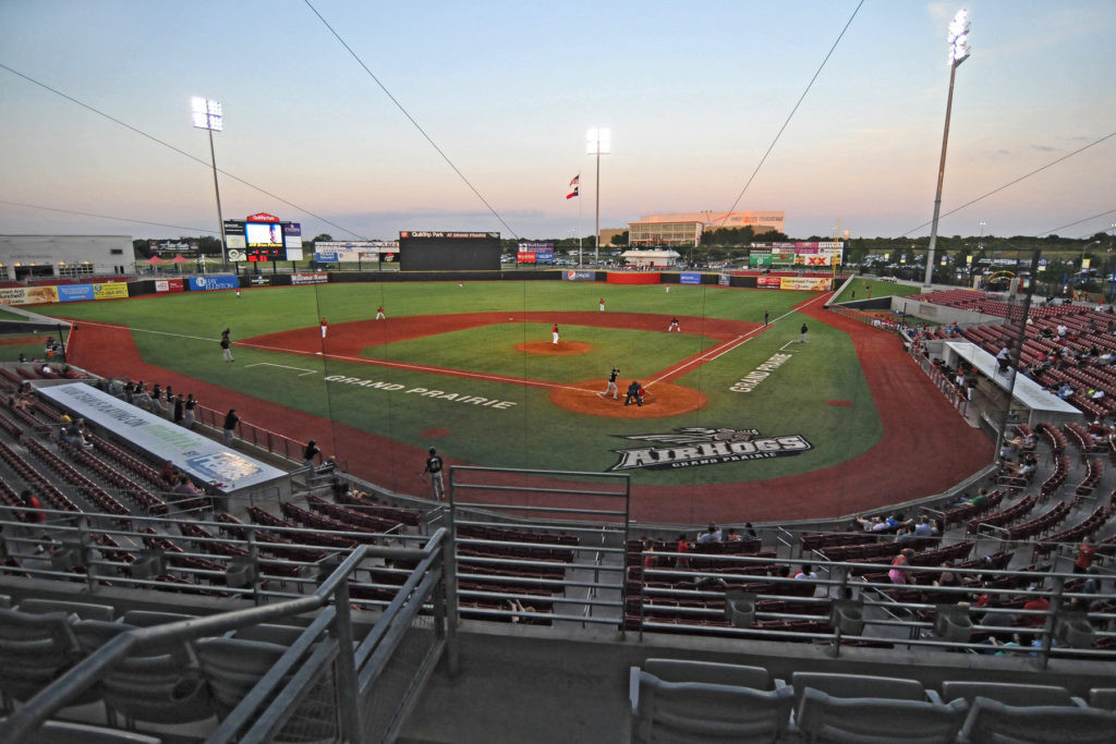 The AirHogs Stadium in Grand Prairie in Texas is set to be turned into an 8,000-seater cricket stadium ©USA Cricket