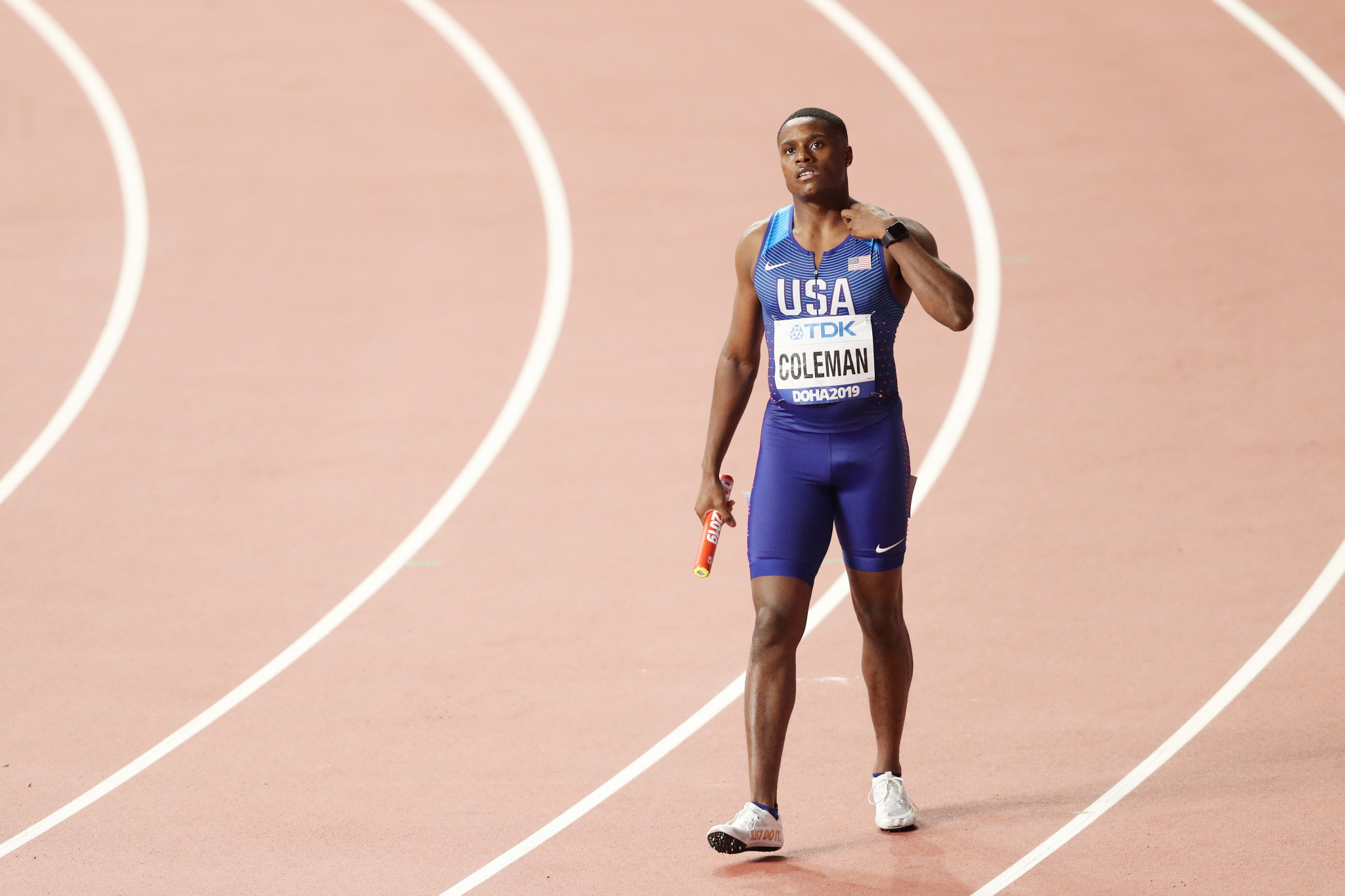 World 100m champion Coleman appeals ban that would rule him out of Tokyo 2020