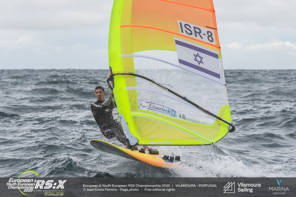 Picon and Cohen continue in pole position at RS:X European Championships