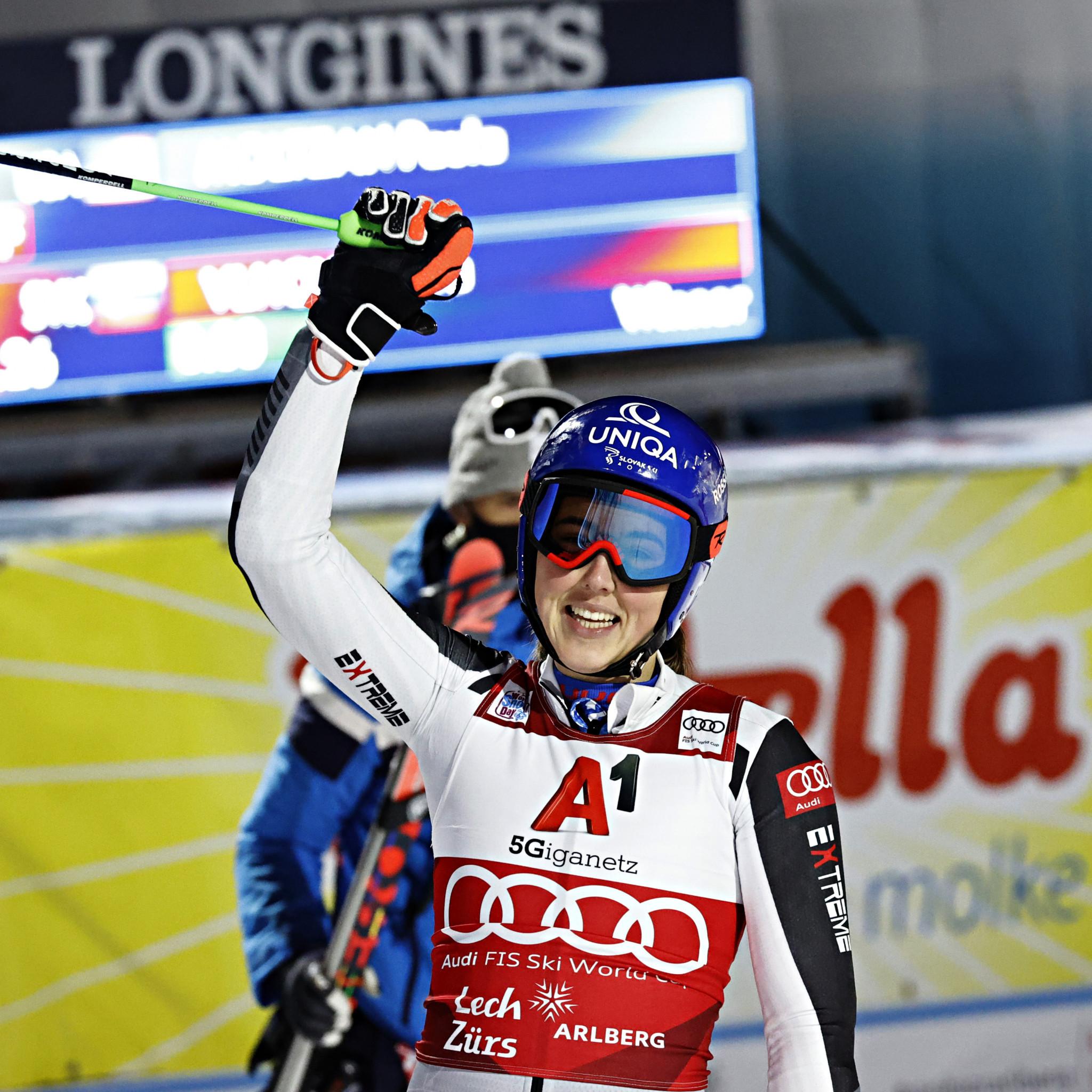 In-form Vlhová overcomes Moltzan to win parallel giant slalom race in Lech-Zürs