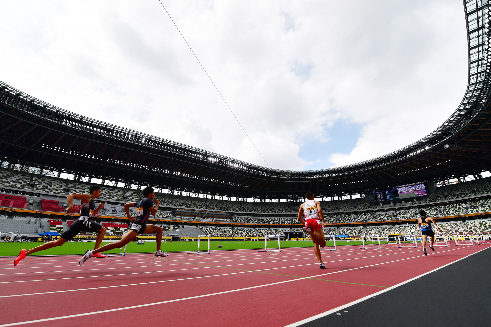 Tokyo's Olympic Stadium will host the opening World Athletics Continental Tour Gold meeting series on May 9 ©Getty Images