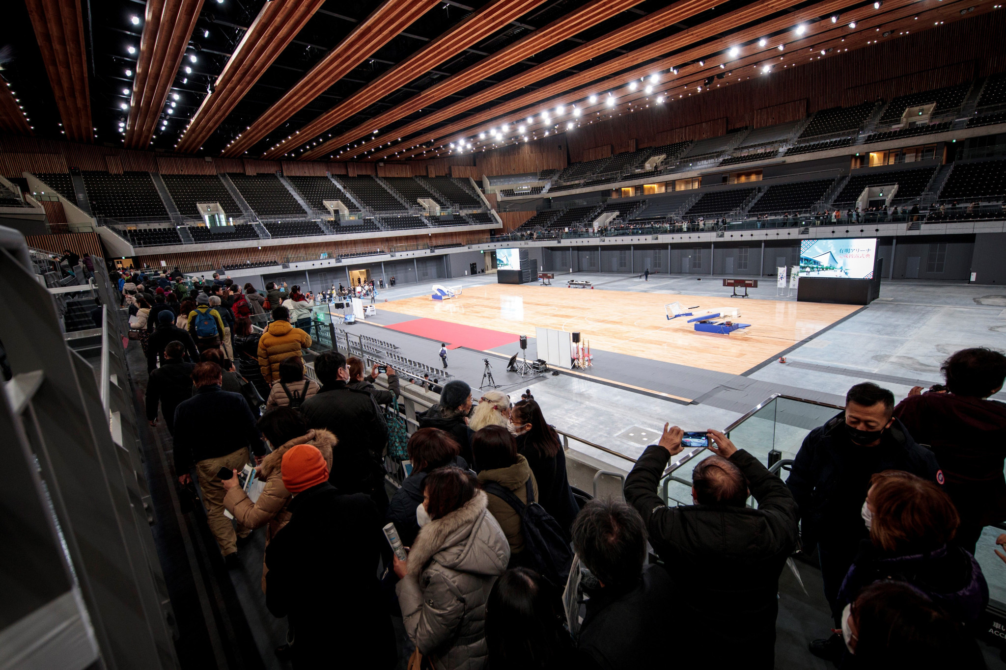 The Ariake Arena is among a number of Tokyo 2020 venues that will host test events next year ©Getty Images
