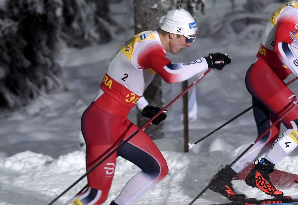 Erik Valnes won his first FIS Cross-Country World Cup race in Ruka ©FIS