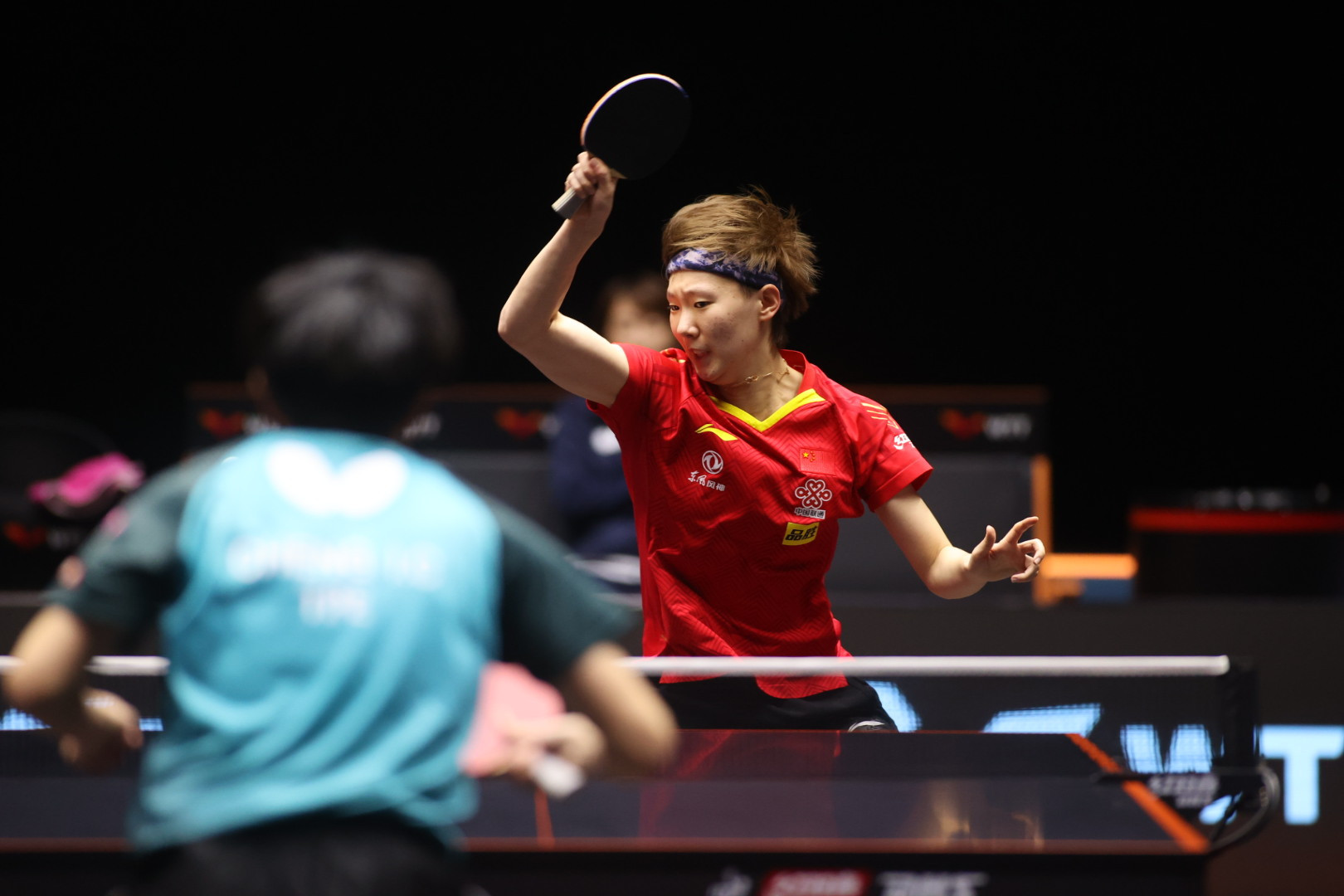 Wang Manyu is one of four Chinese women to progress to the semi-finals ©WTT