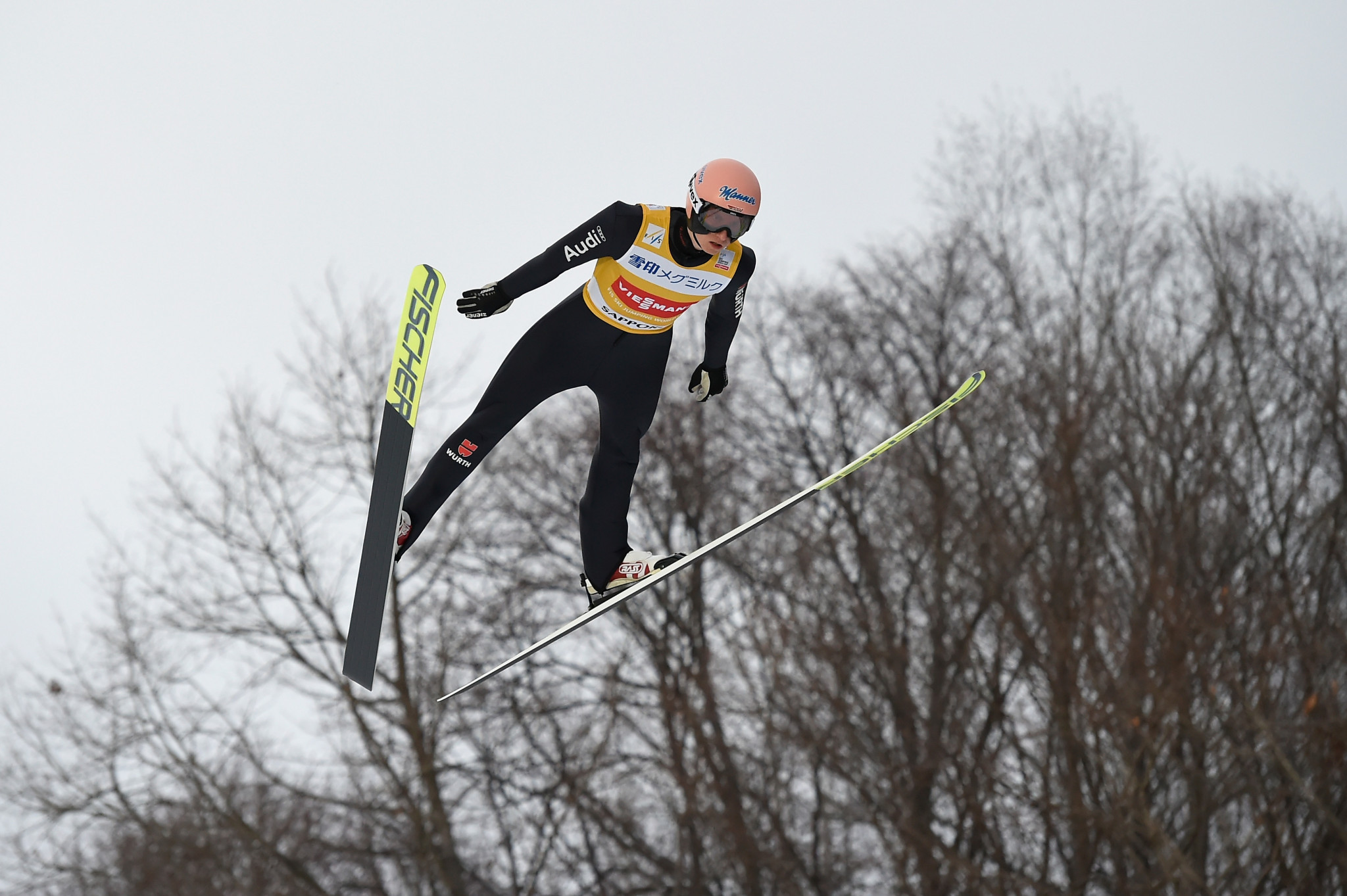 Geiger leads FIS Ski Flying World Championships after two rounds