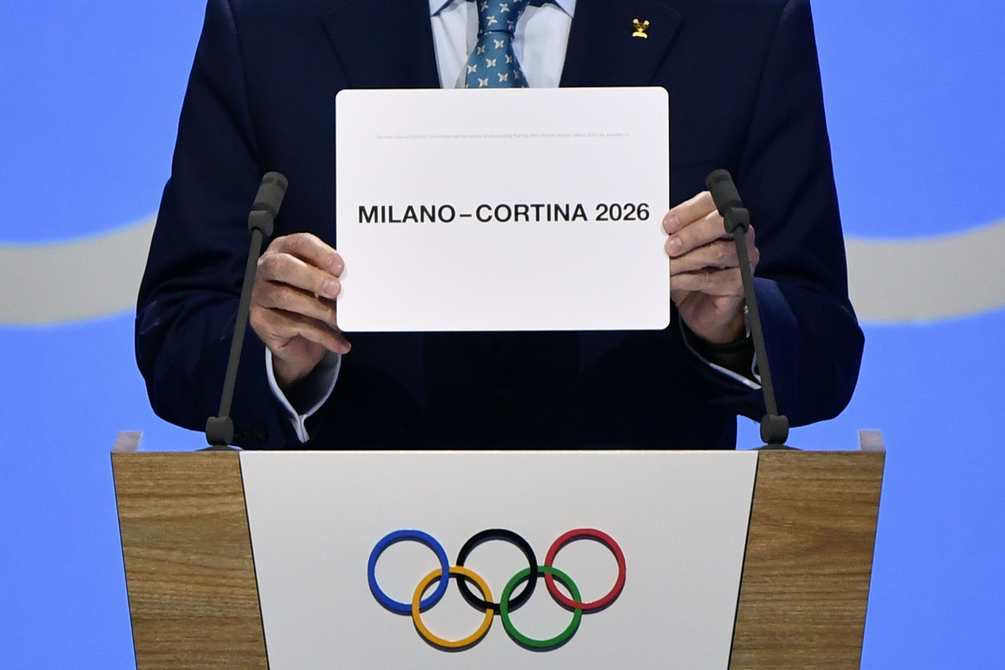 Milan Cortina was awarded the 2026 Winter Olympic and Paralympic Games in June 2019 ©Getty Images