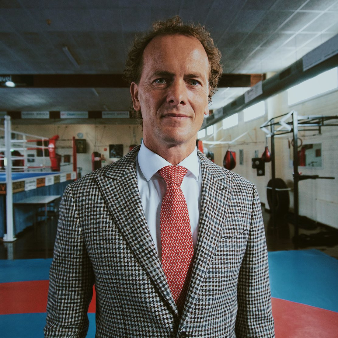 Van der Vorst receives support from five Nordic countries in AIBA President bid