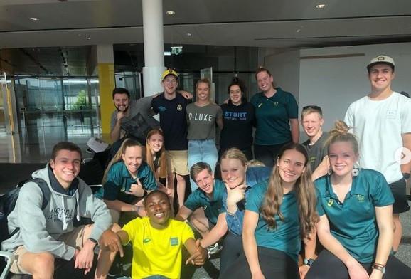 Australian Alpine skier Greta Small will be working alongside the Olympic Change-Makers ©Instagram