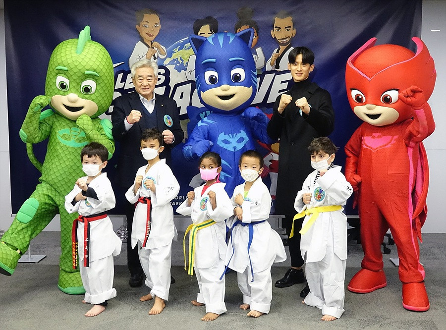 World Taekwondo launches children's campaign centred on TV show PJ Masks