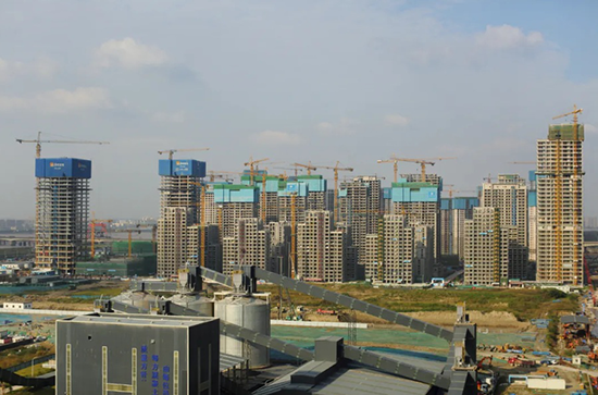 Hangzhou 2022 Asian Games Village completes topping out construction