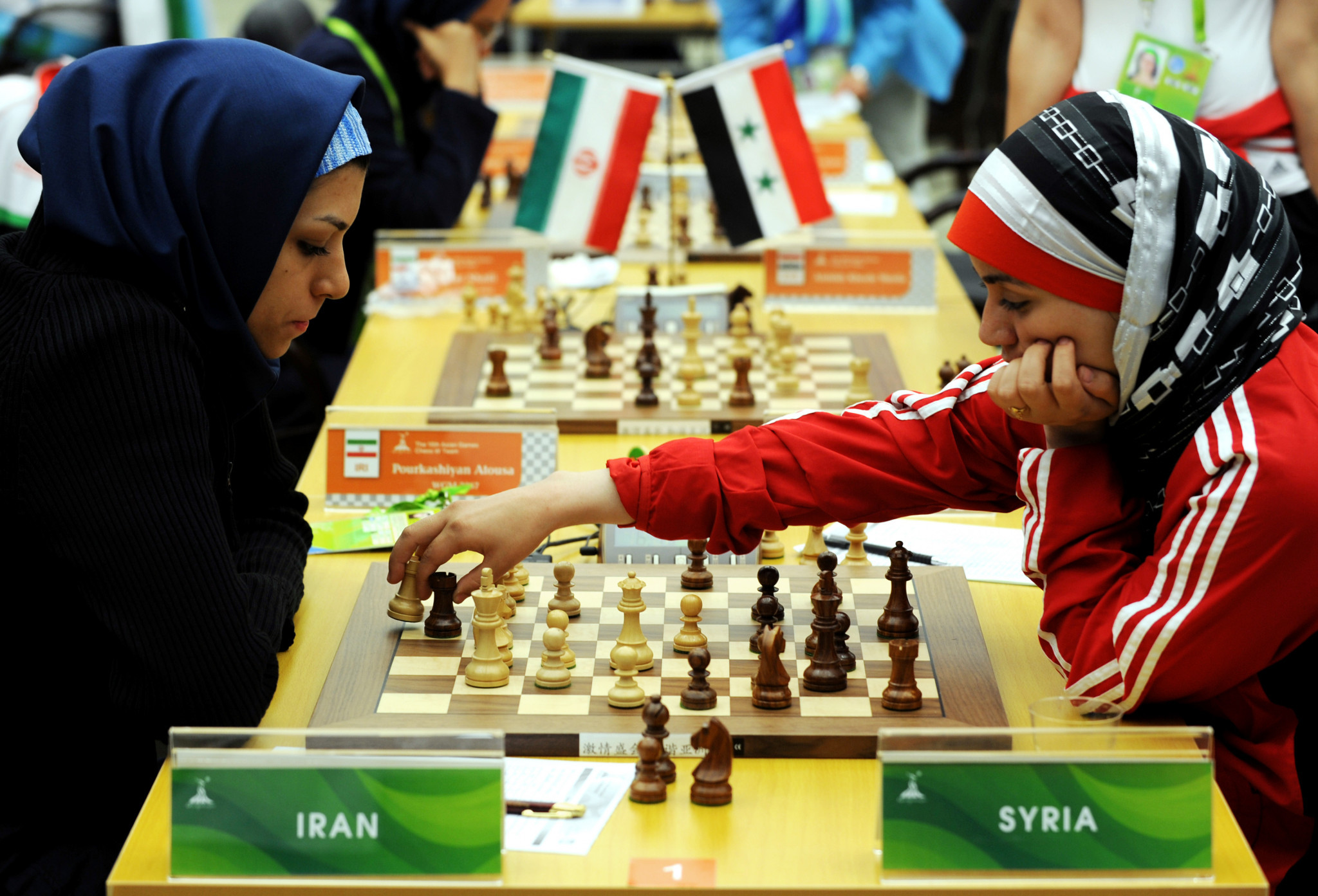 Chess has featured at multi-sport competitions such as the Asian Games, but is yet to reach Olympic inclusion ©Getty Images