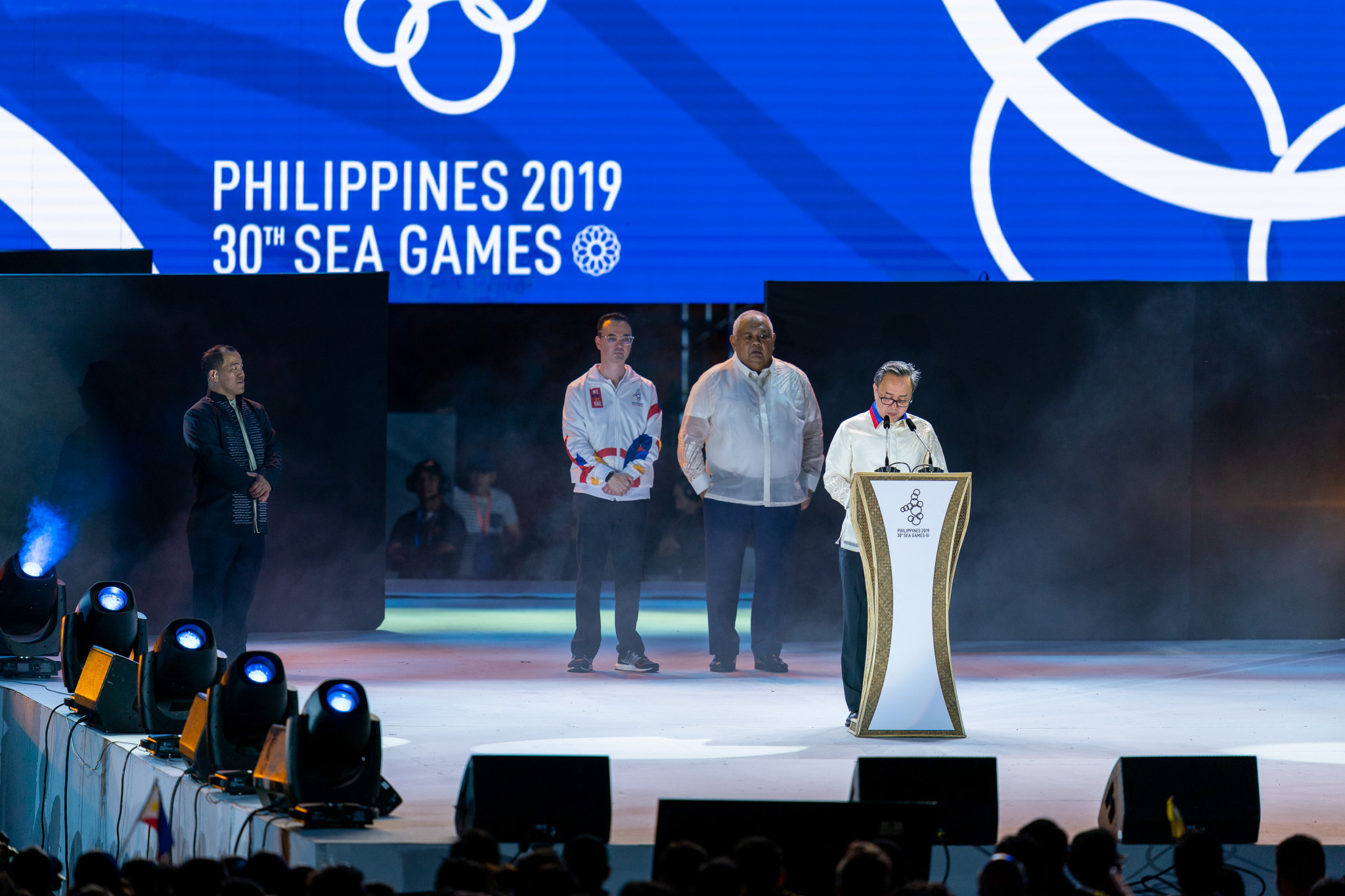 Abraham Tolentino was re-elected President of the Philippines Olympic Committee after defeating Clint Aranas by eight votes ©Getty Images