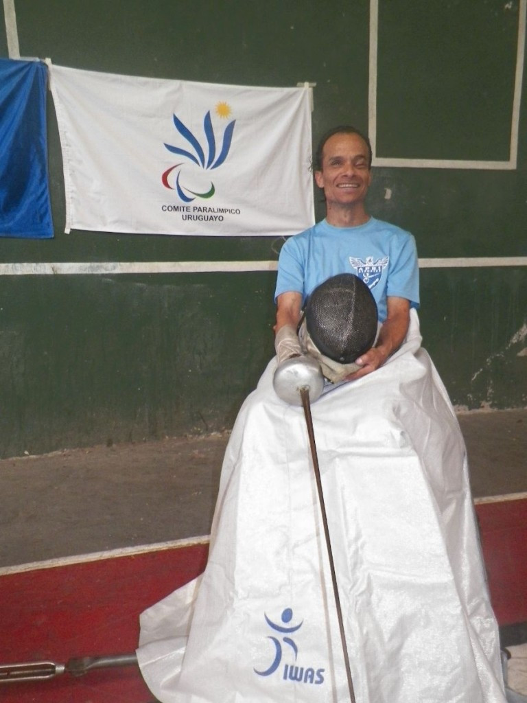 IWAS donate aprons to Uruguayan wheelchair fencers in bid to develop sport in nation