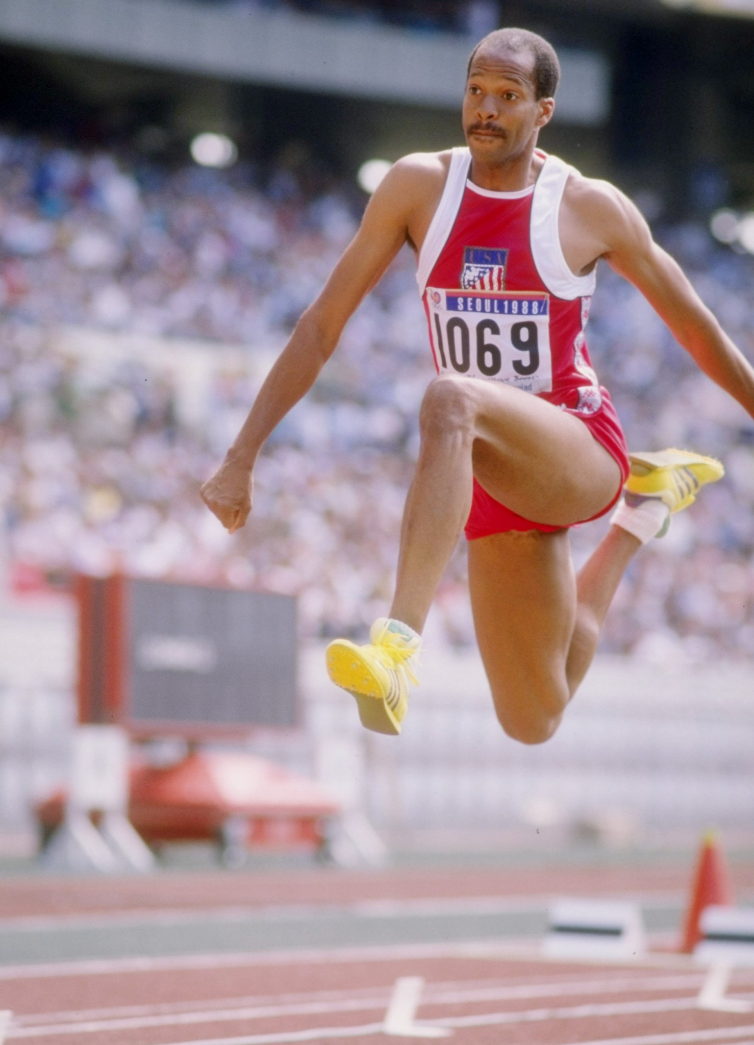 Willie Banks competed at the Los Angeles 1984 and Seoul 1988 Olympics ©Getty Images