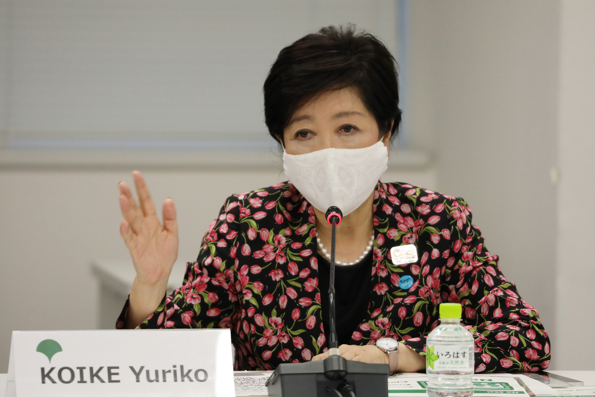 Tokyo Governor Yuriko Koike has revealed she hopes the Olympic and Paralympic Games will have