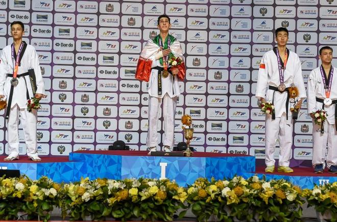 Teenage kicks at World Taekwondo Championships as Iranian and Thai youngsters triumph