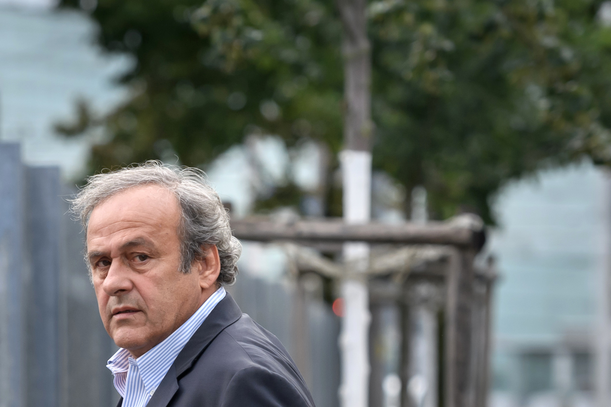 Michel Platini attended questioning back in August ©Getty Images
