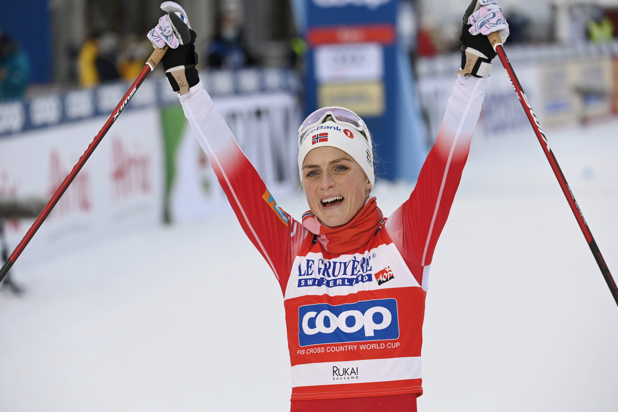 Johaug and Klæbo bag second golds of Cross-Country World Cup weekend in Ruka