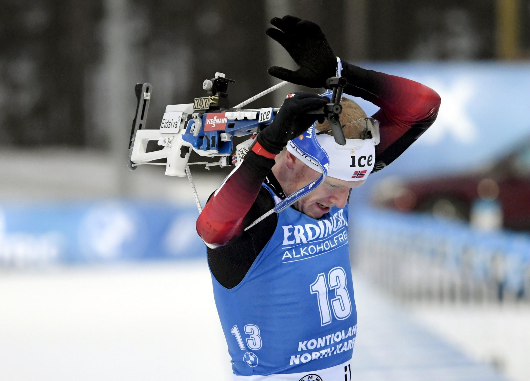 Boe and Oeberg secure sprint victories at IBU World Cup in Kontiolahti